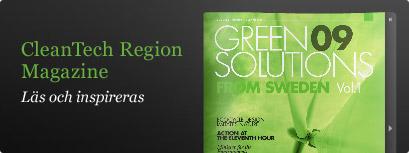 CleanTech Region Magazine - Läs och inspireras